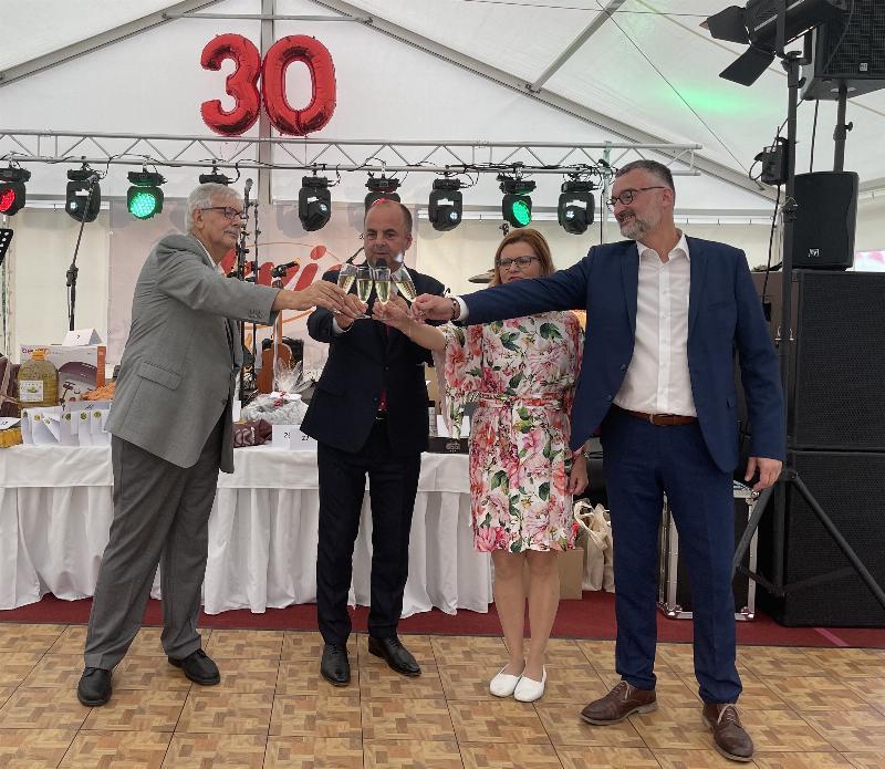 30 rokov nitrianskej spolocnosti EKVIA. 19.september 2021 Nitra