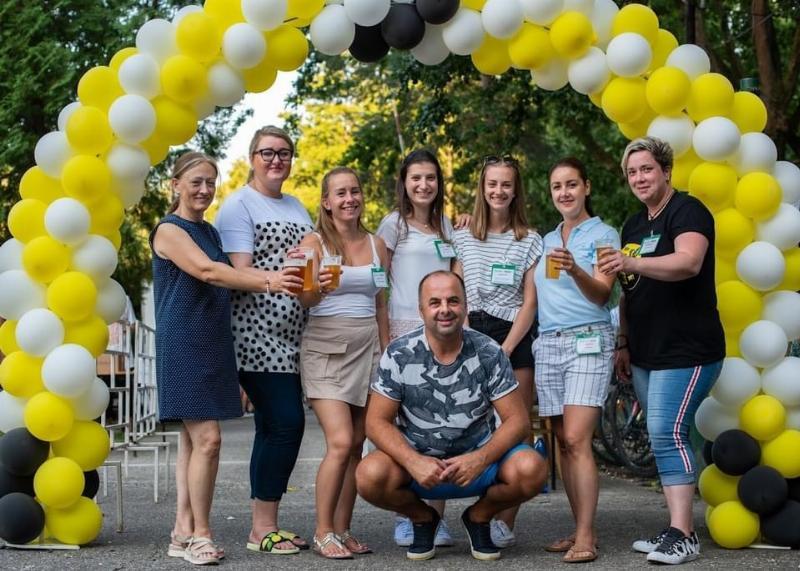1 rocnik pivneho festivalu na Gazarke. Šaštin-Straže 14.august 2021