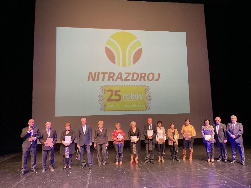 25 rokov spolocnosti Nitrazdroj v divadle Andreja Bagara. 10.november 2019 Nitra