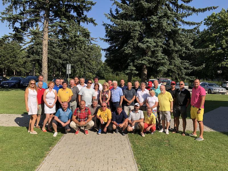 Golfovy turnaj partnerov Lions clubu Bratislava v Báči na pomoc postihnutej Simonke. 19.jun 2018 Báč.
